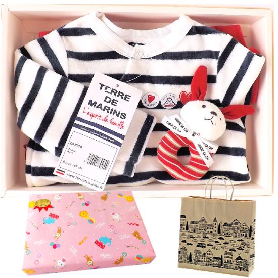 フランス製ベビー服出産祝い