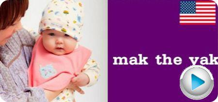 アメリカベビー服 mak the yak(マックザヤック)