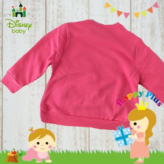 女の子出産祝い disney baby ミニーマウス上下ベビー服セット