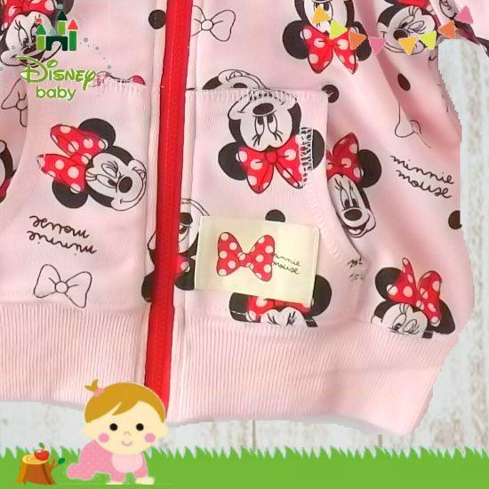 女の子出産祝い disney baby ミニーマウスパーカー
