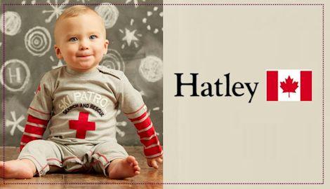 カナダ生まれのベビー服 ハットレイ