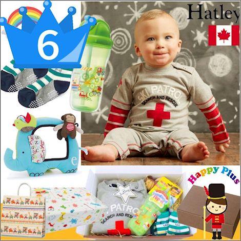 おすすめ男の子出産祝い6位 カナダベビー服とおもちゃセット