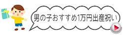 出産祝い男の子おすすめ1万円セット