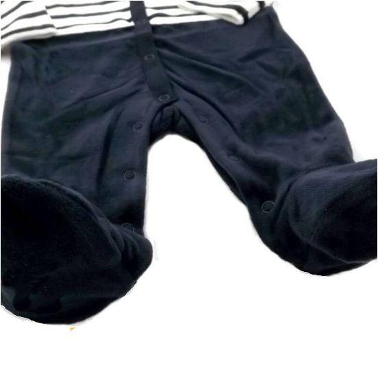 フランス製ベビー服 Terre de marins CHABI足付きカバーオール