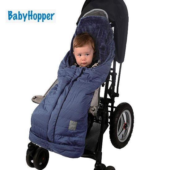 BabyHopper ウインター・パッカブルフットマフ/ブルー