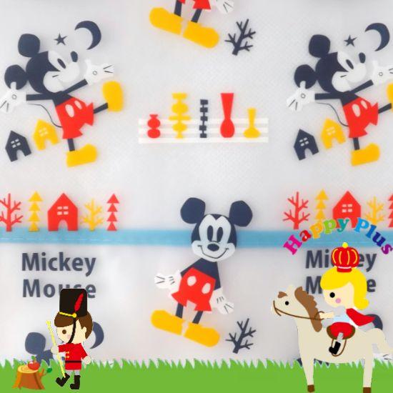 ミッキーマウス食事用エプロン