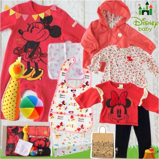 ディズニーミニーマウス ベビー服出産祝い