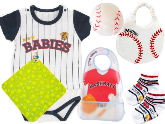 男の子野球ユニフォーム出産祝い