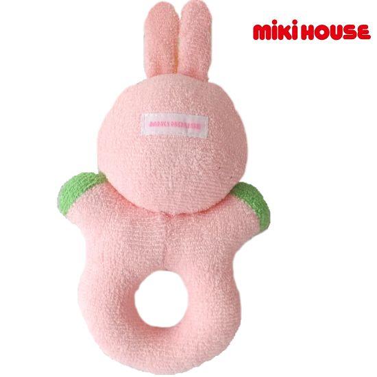 ミキハウス ガラガラおもちゃ
