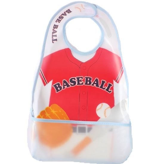 食事用エプロン 野球