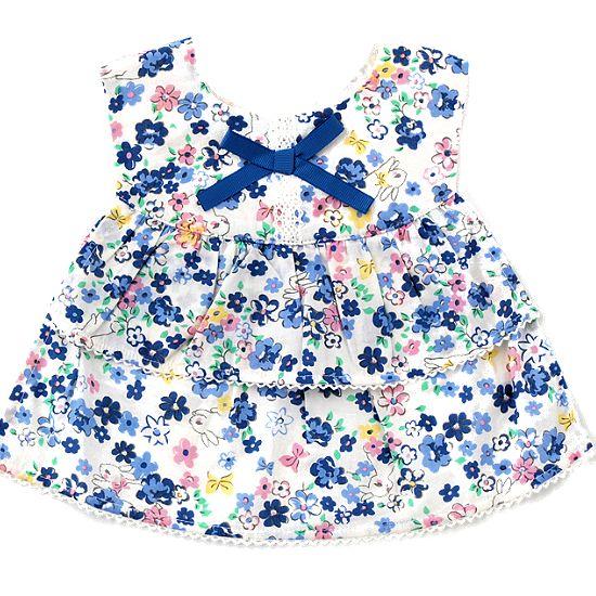 スイートガール 花柄ベビー服