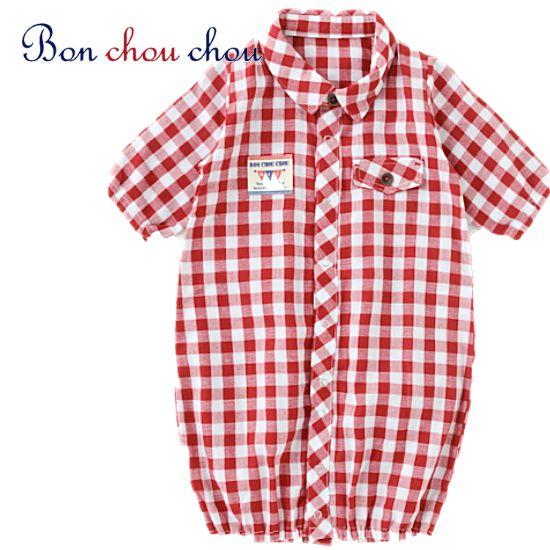 チェックシャツベビー服