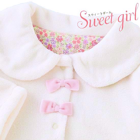 シンプルな女の子ジャケット 1歳