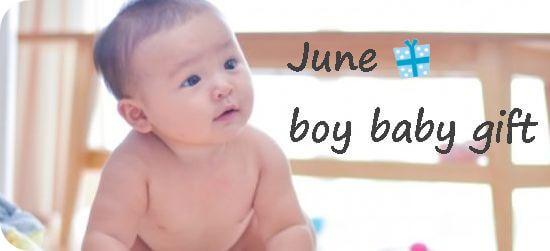 6月生まれの男の子へ贈る出産祝い