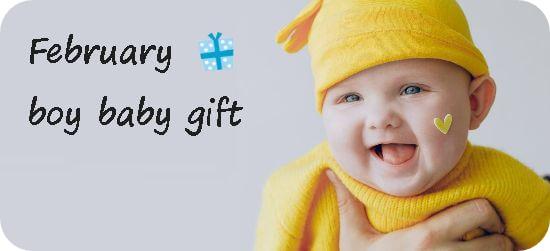 2月生まれの男の子へ贈る出産祝いギフト