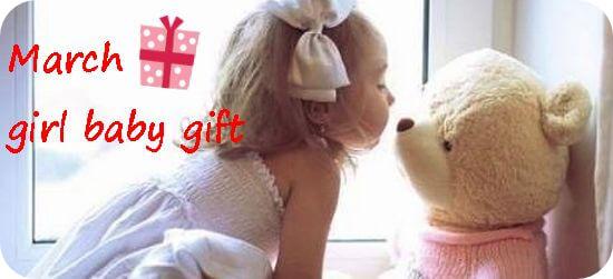 3月生まれの女の子へ贈る出産祝いギフト