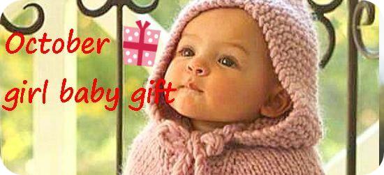 10月生まれの女の子へ贈る出産祝い