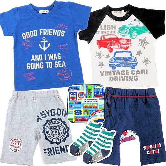 1歳ベビー服4着 男の子出産祝い