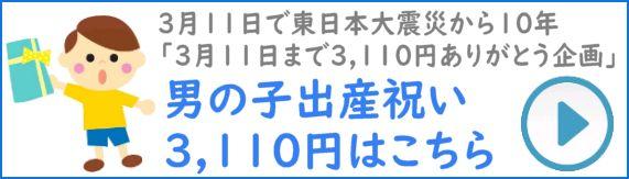 男の子出産祝い5,000円以下