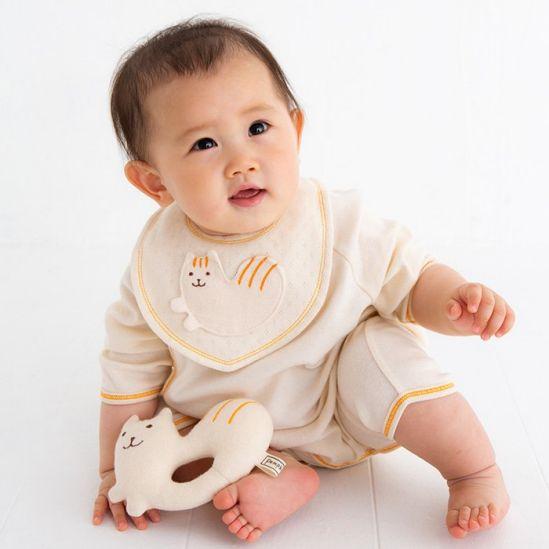 ポプキンズ 日本製ベビー服 シマリス