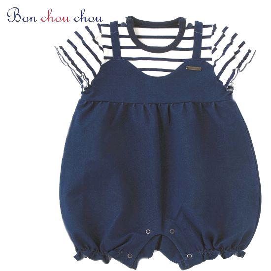 春夏1歳 女の子ショートオールベビー服