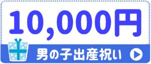 出産祝い男の子 10,000円