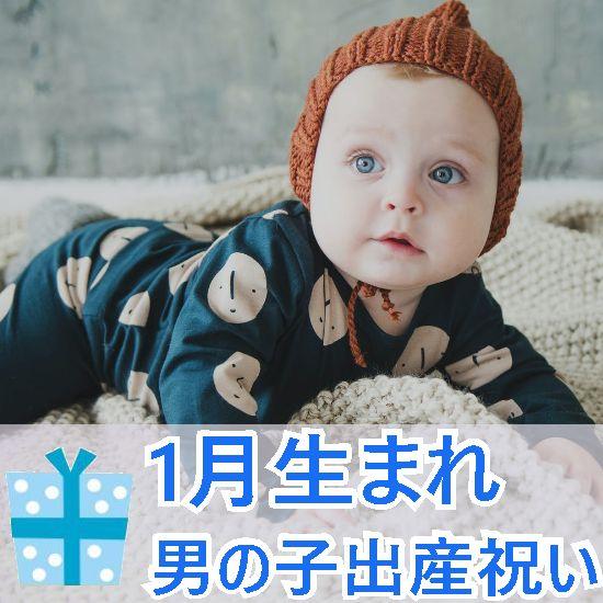 1月生まれの男の子へ贈る出産祝いギフト