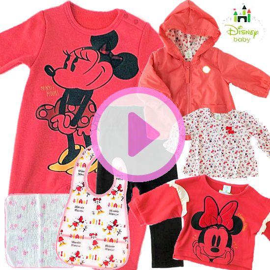 人気!Disney baby ミニーマウスベビー服 プレミアム女の子出産祝い