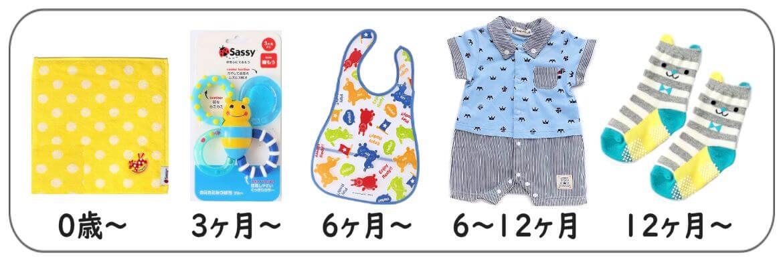 男の子送料入れて5千円以下出産祝い