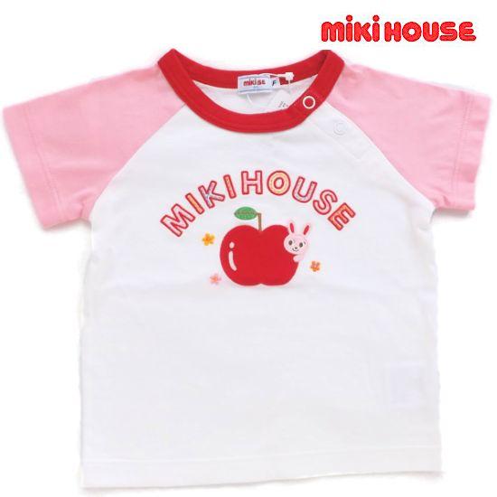 ミキハウス女の子Tシャツ