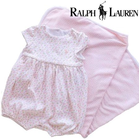 ラルフローレン ブランケット女の子出産祝い