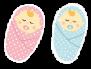 ハッピープラス出産祝いベビー服サイズ