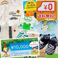 送料無料(沖縄・離島除く) 男の子2万円出産祝い 育児わくわく1万円セットと出産祝いギフト券セット