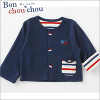 Bon chou chou カジュアルカーディガン(ネイビー)