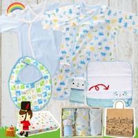 男の子出産祝い 赤ちゃんが初めて着る新生児ベビー服セット