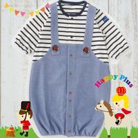 生後0歳~6ヶ月まで着られるサロンペット風 新生児ベビー服
