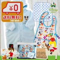 Disney baby 防寒おくるみふわふわミッキーマウスベビー服3点セット