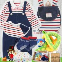 男の子出産祝い もらって嬉しい重ね着風ベビー服とsassyタオルセット