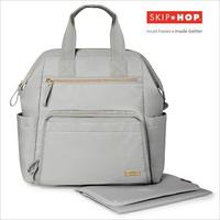 SKIP HOP マザーズリュック/ソフトフレーム/グレー