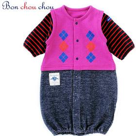 新生児から着られる2Wayカバーオール