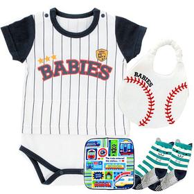 野球ユニフォームベビー服 出産祝いセット