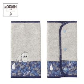 Moomin baby ムーミン リバーシブルベルトカバー/ボンゴボンゴ/ネイビー