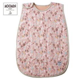 Moomin baby ムーミン 中綿入りスリーパー タイニーストライプス/ピンク
