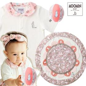 女の子出産祝い ムーミン 赤ちゃんと遊ぶベビー用品セット