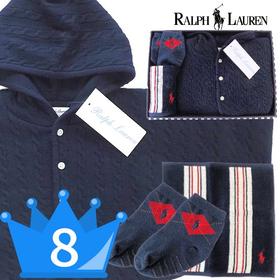 男の子出産祝い RALPH LAUREN ラルフローレン ポンチョセット