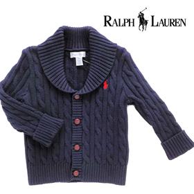 RALPH LAUREN ラルフローレンベビー服 ニットカーディガン