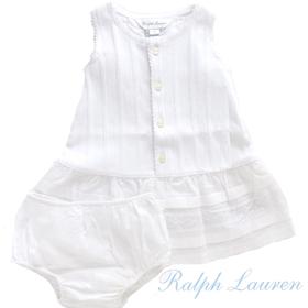 RALPH LAUREN ラルフローレン 女の子新生児ベビー服 パンツセット