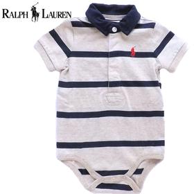 RALPH LAUREN ラルフローレンベビー服 半袖ロンパース