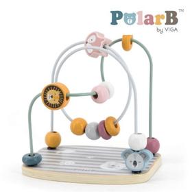 木製玩具 PolarB(ポーラービー) ビーズメイズ