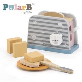 木製玩具 PolarB(ポーラービー) トースターセット